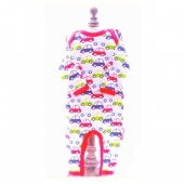 "Pijama ""Beauty & The Bib"" Cars 6-12Meses"