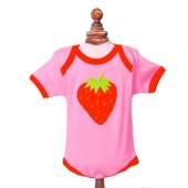 Body Beauty & The Bib Strawberry 3-6Meses