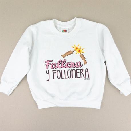 Sudadera Fallera y Follonera