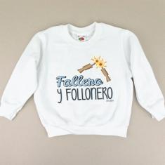Sudadera Fallero y Follonero
