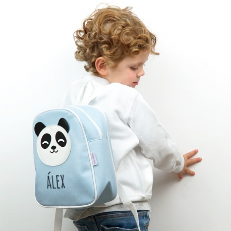 Backpack Stars Mint Cloud Personalized