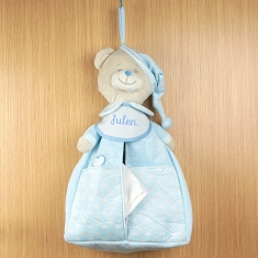 Diaper Keeper Blue Personalized