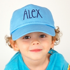 Gorra Junior Personalizada Azul