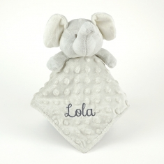 Dou-Dou Elephant Head Gray+0M Personalized