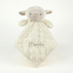 Dou-Dou Sheep Head Beige +0M Personalized