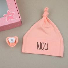 Box Rattle Pink Personalized
