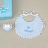 Cajita Baby babero azul Príncipe