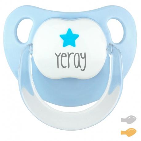 Baby Deco Personalizado Azul Estrella