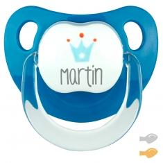 Baby Deco Personalizado Denim Corona