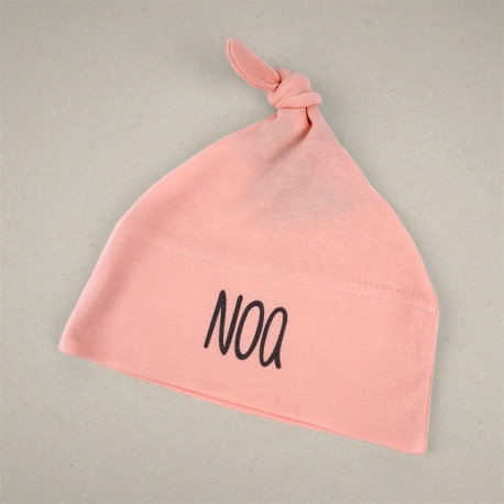 Gorrito duende personalizado rosa