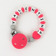 Silicone Chain Personalized Strawberry
