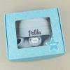 Cajita Set Recién Nacido Azul Personalizada