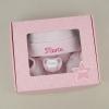 Cajita Set Recién Nacido Rosa Personalizada