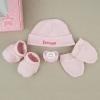 Set Box Newborn Pink Personalized