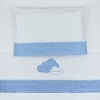 Mi Pipo Osito Guarda-Pañales Personalizado Azul
