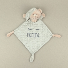 Dou-Dou Classic Extra Soft Gray +0M Personalized