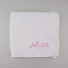 BABIDU Lullaby Personalized MultiStars Pink
