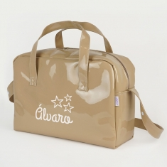 Bag Breadbasket Special Leather Front Ties Personalized