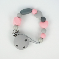 Silicone Chain Pink Pandora Not Personalized