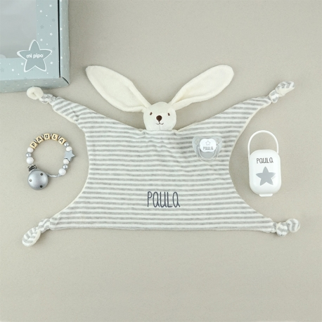 Box Baby Born Deluxe Gray Personalized