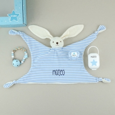 Box Baby Born Deluxe Blue Personalized