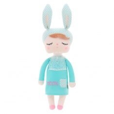 Rattle Rabbit Blue +0 Personalized