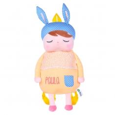 Rattle Rabbit Blue +0 Personalized