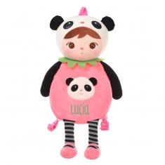 Mochila Metoo Panda rosa personalizada