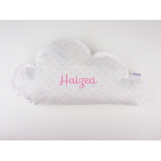 Cloud Pillow Pink Handmade Personalized