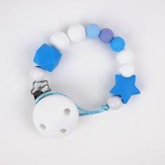 Cadenita Silicona Dora Azul