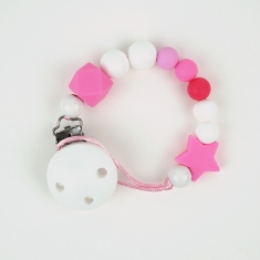 Silicone Chain Dora Pink Not Personalized
