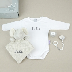 Box Medium Gray Personalized