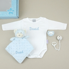 Box Medium Blue Personalized