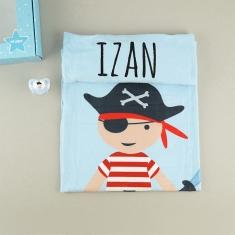 Cajita Baby Arrullo Pirata Personalizada