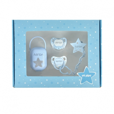 Cajita Mis Imprescindibles Azul Personalizada