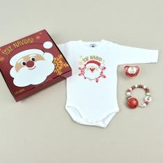 Cajita Welcome! Feliz Navidad Papá Noel