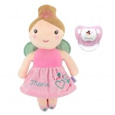 Muñeca + Chupete Baby Hada Personalizados