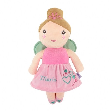 Personalized Blanket + Sheep Doll
