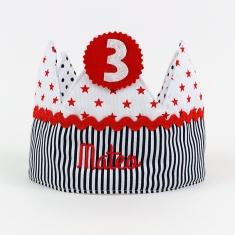 Corona Cumpleaños Unisex Handmade Personalizada