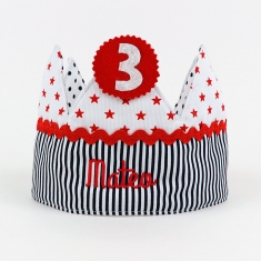 Birthday Crown Unisex Handmade Personalized