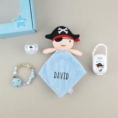Cajita Baby Born Pirata Personalizada
