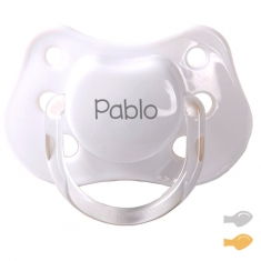 Classic Customizable Pacifier White