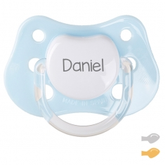 Classic Customizable Pacifier Light Blue