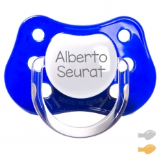 Classic Customizable Pacifier Navy Blue