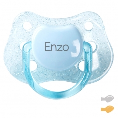 Classic Customizable Pacifier Purpurin Blue