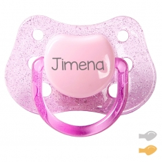 Classic Customizable Pacifier Purpurin Pink