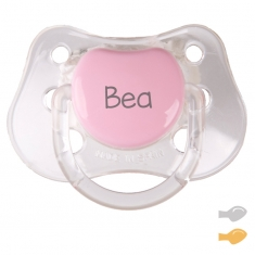 Classic Customizable Pacifier Crystal Pink