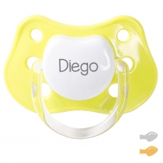 Classic Customizable Pacifier Lime