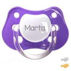 Classic Customizable Pacifier Purple