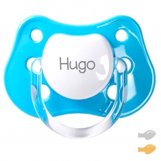 Classic Customizable Pacifier Smurf